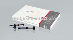 Dental material composite resin implant kit