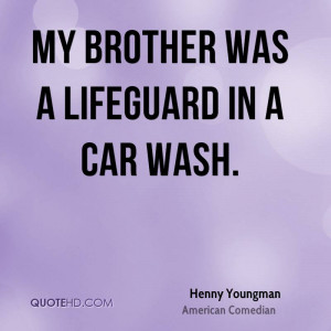 Henny Youngman Car Quotes