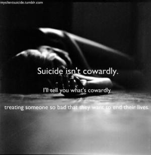 contemplating suicide: don't do it