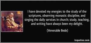 More Venerable Bede Quotes
