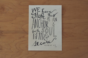 Nautical Quote, Sailor Quote, Courage Quote, Faith Quote, Bible Quote ...