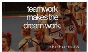 Cheerleading quotes, inspiring, motivational, sayings, teamwork