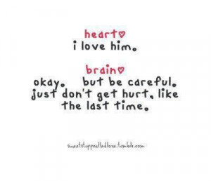 brain, heart, love, quotes, text
