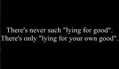 Lying Quotes