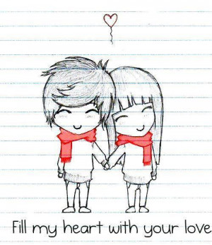 cute love drawing tumblr pictures