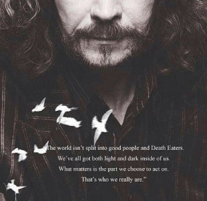 ... this image include: books, harry potter, quotes, read and sirius black