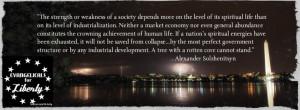 Alexander Solzhenitsyn quote