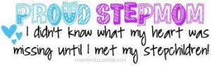 Proud step~mom