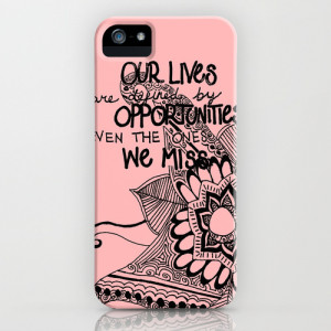 Opportunities Quote iPhone & iPod Case