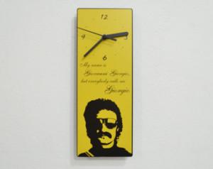 ... Giorgio, but ev erybody calls me Giorgio - Moroder Quote - Wall Clock