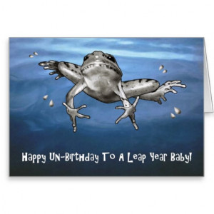 leap_year_birthday_happy_un_birthday_leaping_frog_card ...