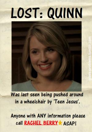 Glee Quotes Quinn Glee Quinn Quotes Glee quinn