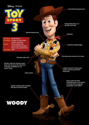 Woody, saying his final farewell to Andy