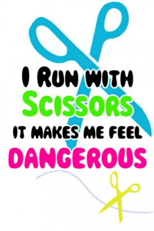 run with scissors... by DreamingMedium