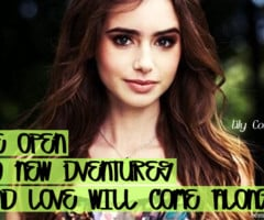 Tagged With Lily Collins Quotes