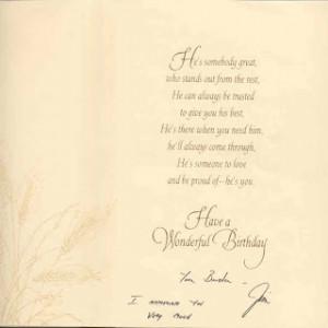 Hallmark Birthday Cards