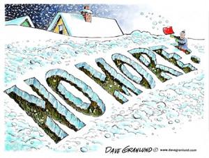 no more snow dave granlund dave granlund cartoon on too much snow ...