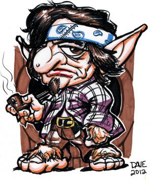 Mexican Drawings Cholo Cholo hobbit by biomek