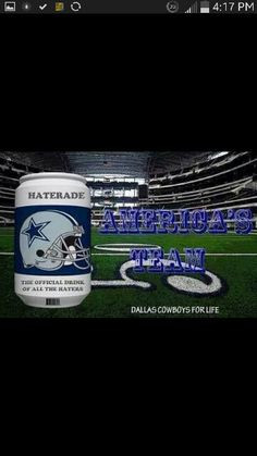 haterade more dallas cowboy haterade