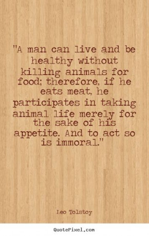 it is healthier not to eat flesh - it is a fact that veg/vegans live ...