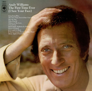 Andy Williams The First Time Ever (I Saw Your Face) UK LP RECORD ...
