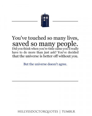 River Song Doctor Who Quotes