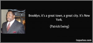 Patrick Ewing Quote