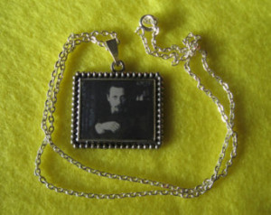 Rainer Maria Rilke Silver Necklace