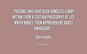 Quotes Being Homeless