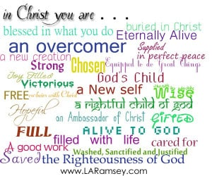 Discover who you are in Christ