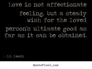 love c.s lewis