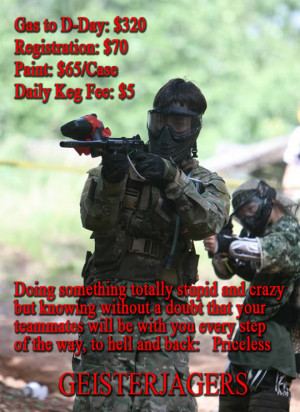 Funny Paintball Quotes