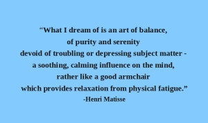 Quote-Matisse