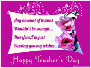 Happy Teachers Day Quotes 2015, Speech, Sms, Messages, Images