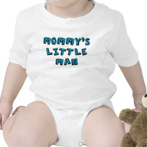 Mommy's Little Man baby Rompers