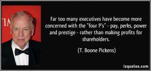 More T. Boone Pickens Quotes