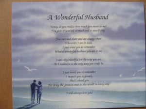anniversary poems for husband. Free printable poems for husband ...