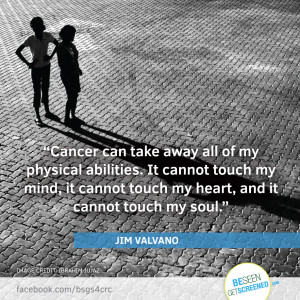 You can be a victim of cancer, or a survivor of cancer. It's a ...