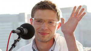 Writer Jonah Lehrer, seen at a 2008 World Science festival panel in ...