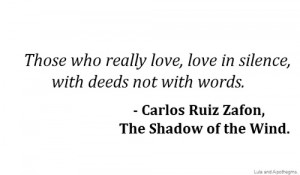Carlos Ruiz Zafon follow us for more quotes and poetry.