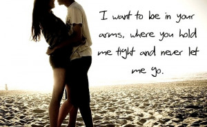 boy and girl, couple, cute, quote, sand, saying, typography