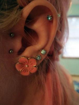 ear piercings, piercings
