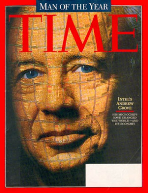 Andrew Grove was Time's Man of the Year in 1997
