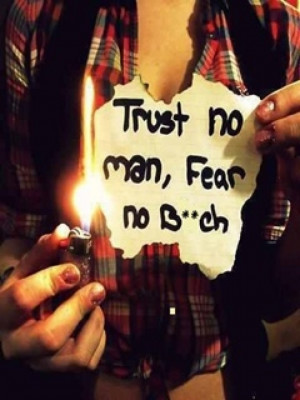 Trust no man fear no quotes Image Puzzle