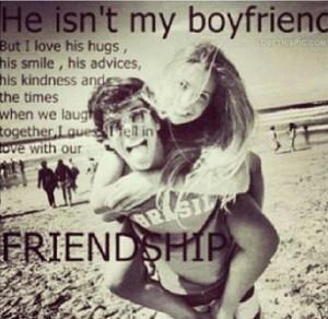 He Is Not My Boyfriend