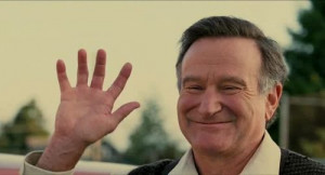 """... alone.""""- Robin Williams as Lance Clayton in World's Greatest Dad"""
