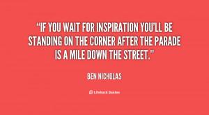Ben Nicholas