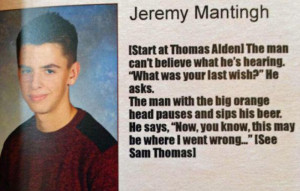 ... Worked Together to Create the Most Elaborate Senior Quote Ever