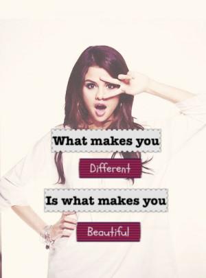 selena gomez quotes | selena gomez selenator what makes you beautiful ...