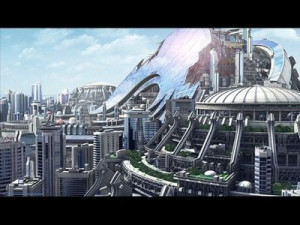 Olympus, the utopian/dystopian city in Appleseed Ex Machina.
